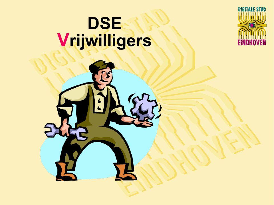 DSE V rijwilligers