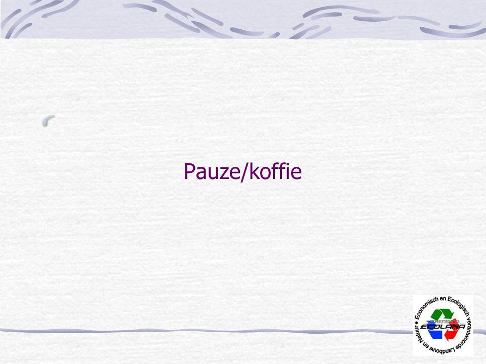 Pauze/koffie