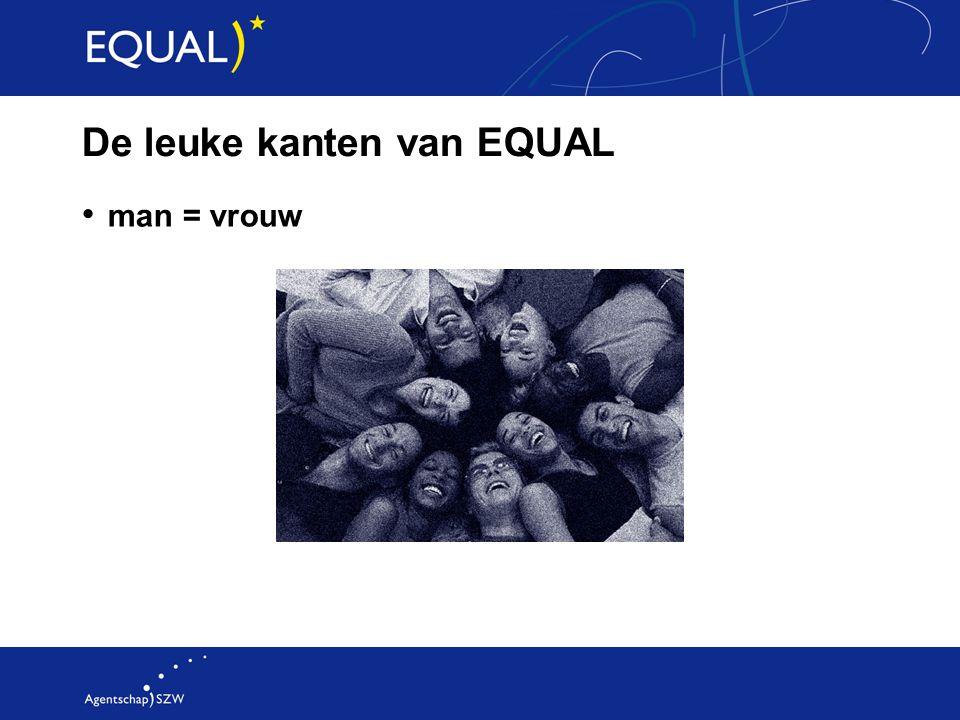 De leuke kanten van EQUAL man = vrouw