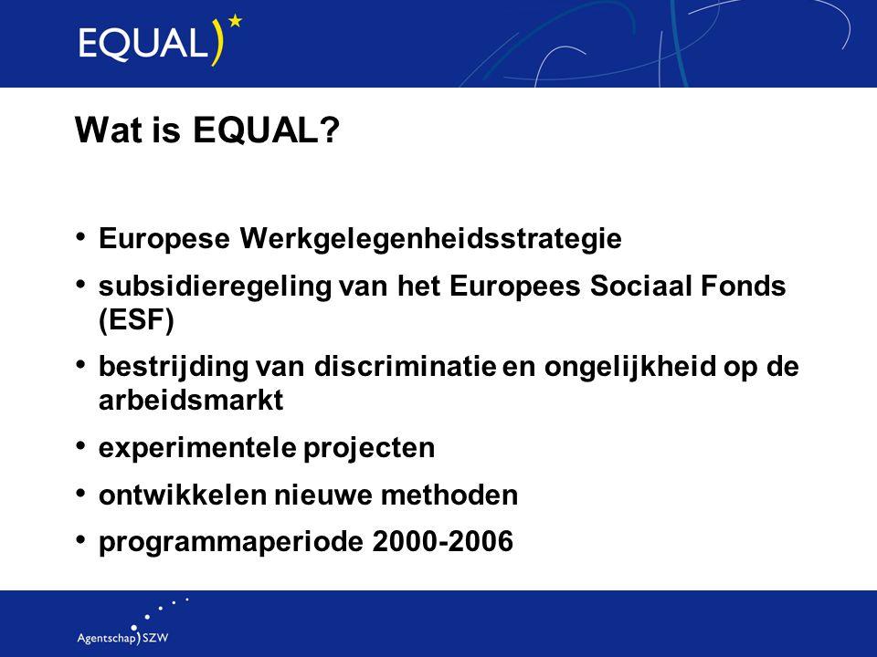 De leuke kanten van EQUAL 100 miljoen Euro
