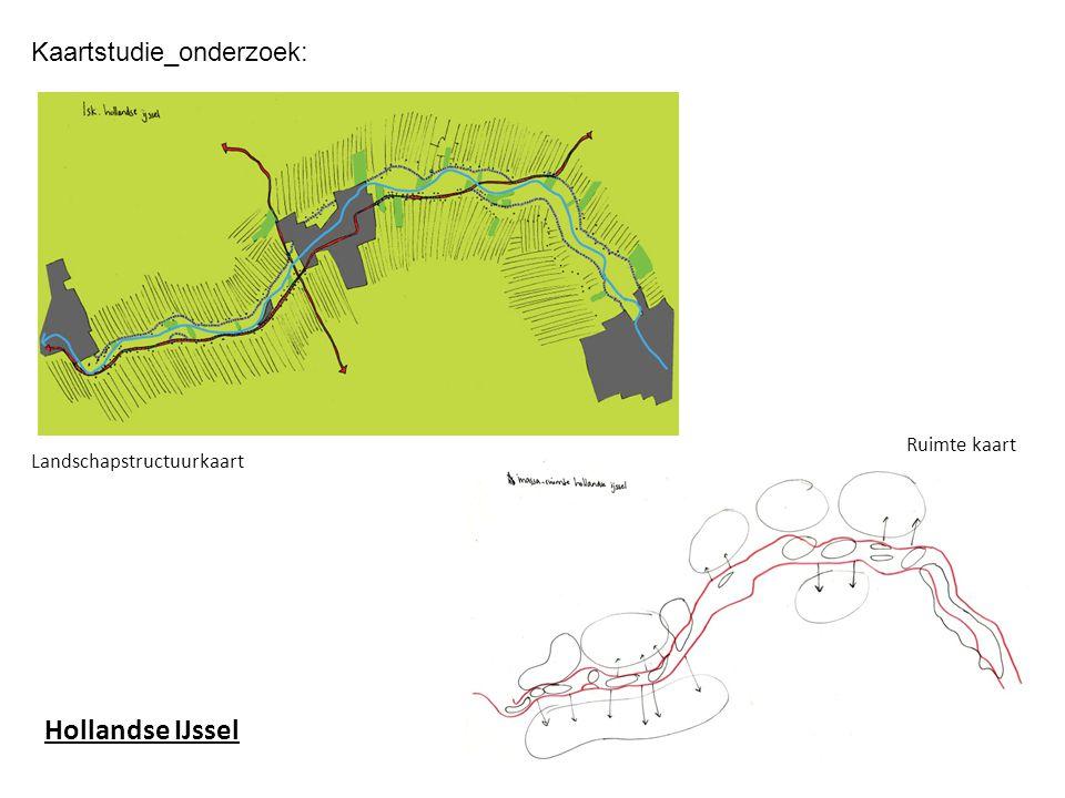Hollandse IJssel Landschapstructuurkaart Ruimte kaart Kaartstudie_onderzoek:
