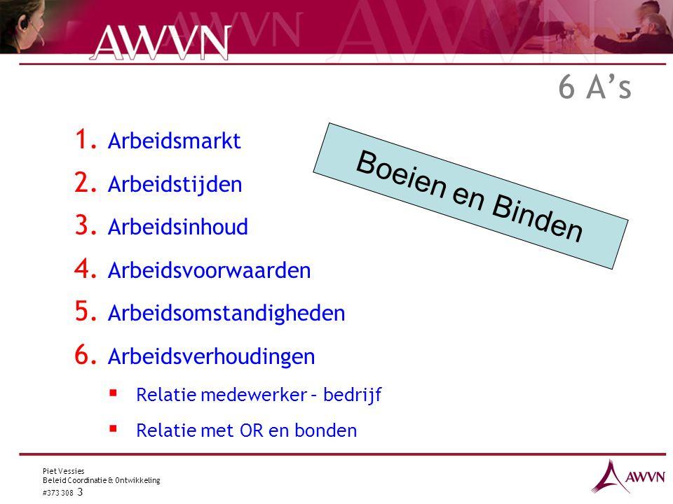 Piet Vessies Beleid Coordinatie & Ontwikkeling #373 308 3 6 A's 1.