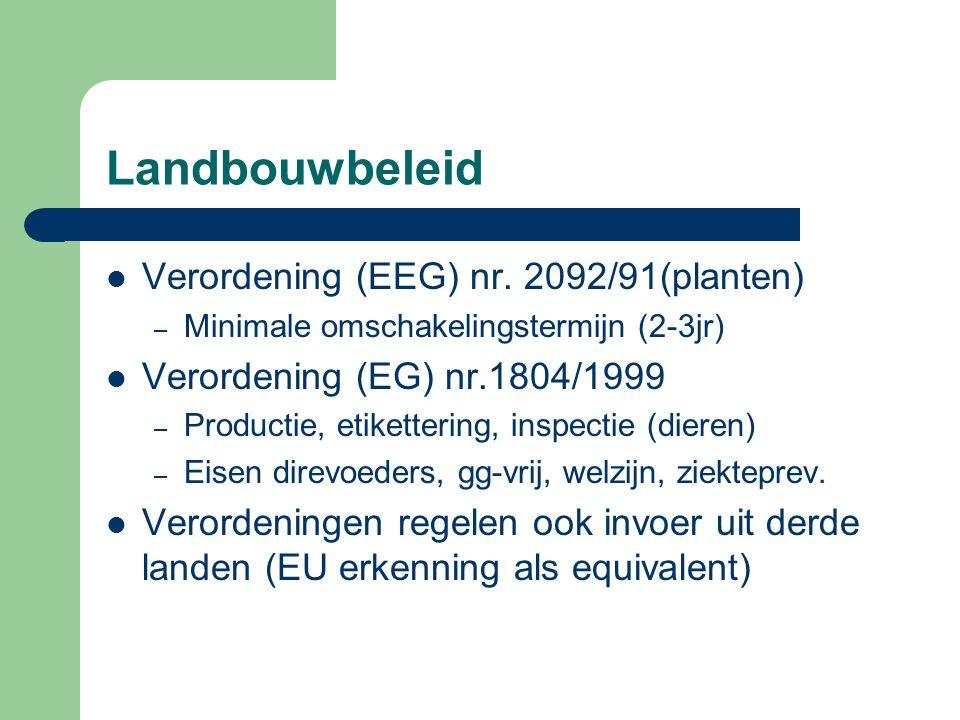 Landbouwbeleid Verordening (EEG) nr.