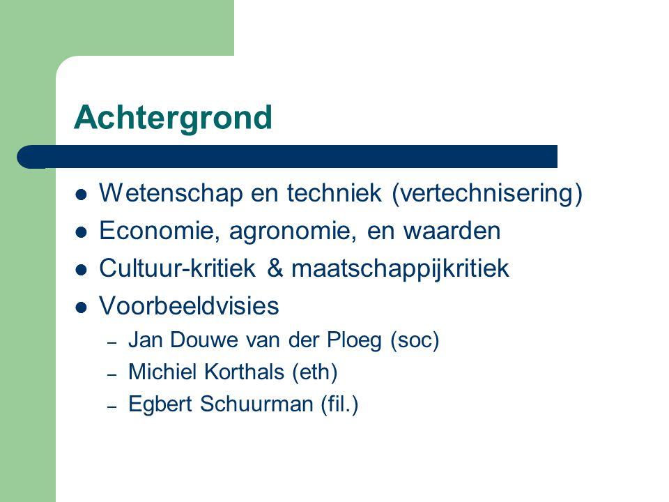 Landbouwbeleid NL: vraaggerichte benadering (markt nr.1) Ambitie: 2004, 5% en 2010, 10% (Biolmarktwin nota) Uitvoeren EU beleid + tijdelijke interventies Speerpunten – Professionaliseren van vraaggerichte ketens (Taskforce Marktontwikkeling, CBL, LTO, Biologica) – Voorlichting en communicatieplan – Faciliteren ketengarantiesystemeen (faciliterend) – Ketensluiting (aanjager) – Kennisontwikkeling & verspreiding (onderwijs&onderz.(10%)) – Harmonisatie internationale wet- en regelgeving Overig fiscaal (VAMIL, EIA, MIA, DOA), btw, arb.pool