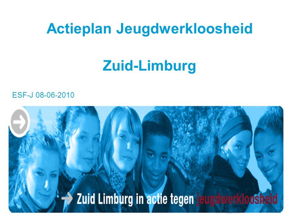 Actieplan Jeugdwerkloosheid Zuid-Limburg ESF-J 08-06-2010
