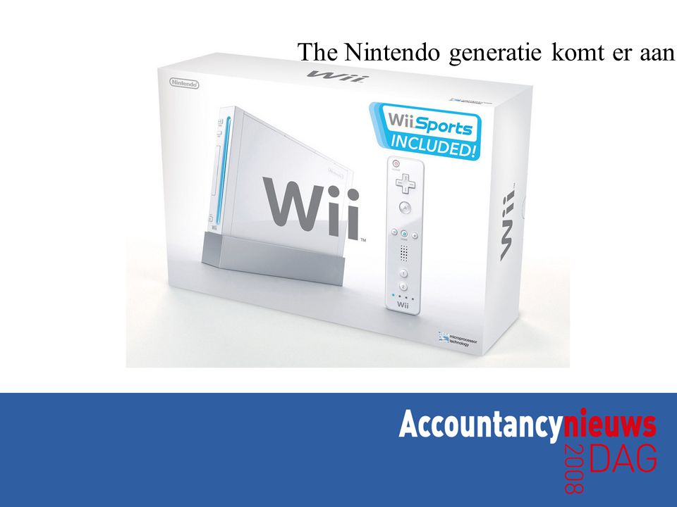 The Nintendo generatie komt er aan