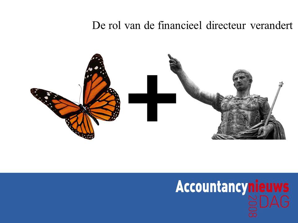 De rol van de financieel directeur verandert