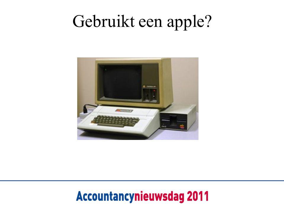 Gebruikt een apple?