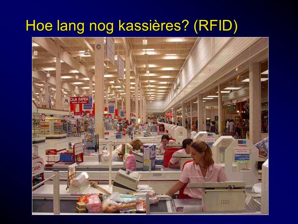 Hoe lang nog kassières? (RFID)