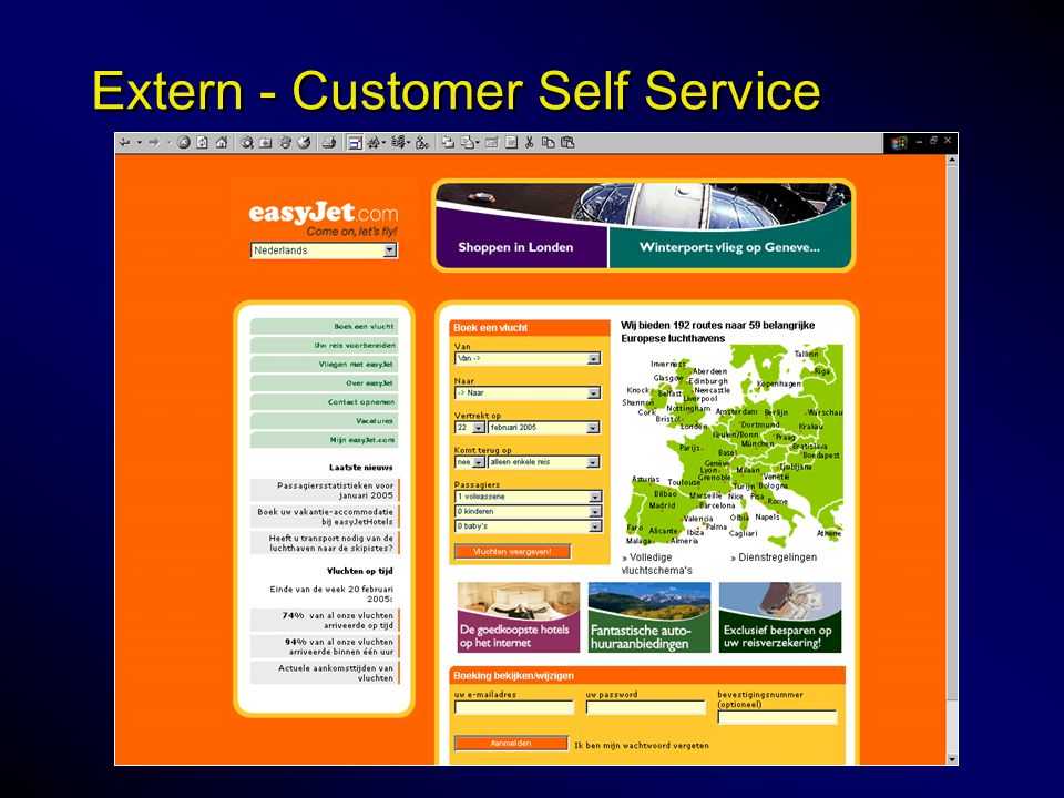 Extern - Customer Self Service