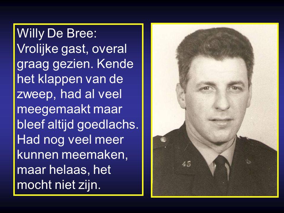 Van Sprang, dader Rigo, Paul, Willy, André, vuurlijn UZI machinepistool Auto van dader schot in hand. doodgeschoten. schampschoten o.a. in de nek.