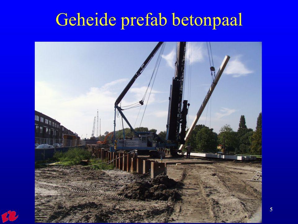 HRO Cursus rib FVB015 Geheide prefab betonpaal