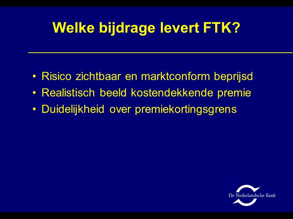 Welke bijdrage levert FTK.