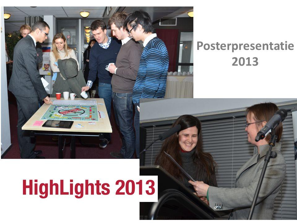 Posterpresentatie 2013