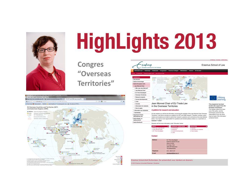 """Congres """"Overseas Territories"""""""