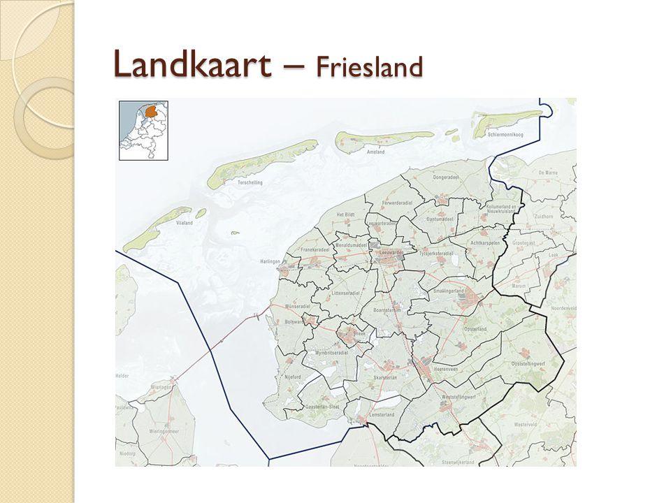 Landkaart – Vlieland nu