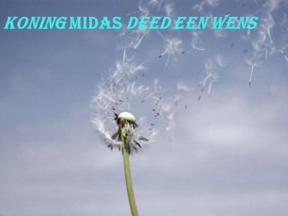 Koning Midas deed een wens