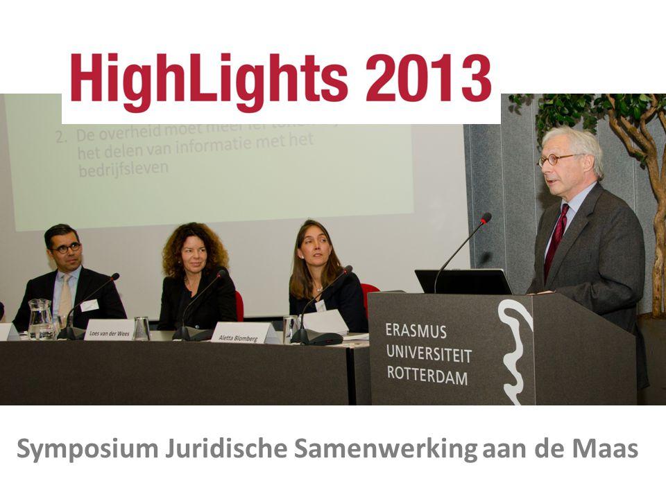 Symposium Juridische Samenwerking aan de Maas