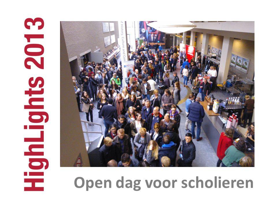 Open dag voor scholieren