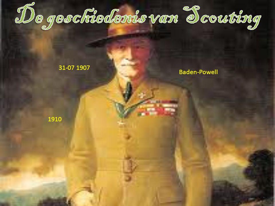 1.De geschiedenis van Scouting 2. Wat doe je allemaal op scouting.