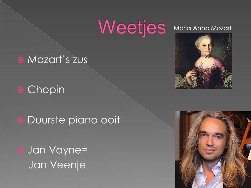  Door wie is de piano uitgevonden. En in welk jaar was hij af.