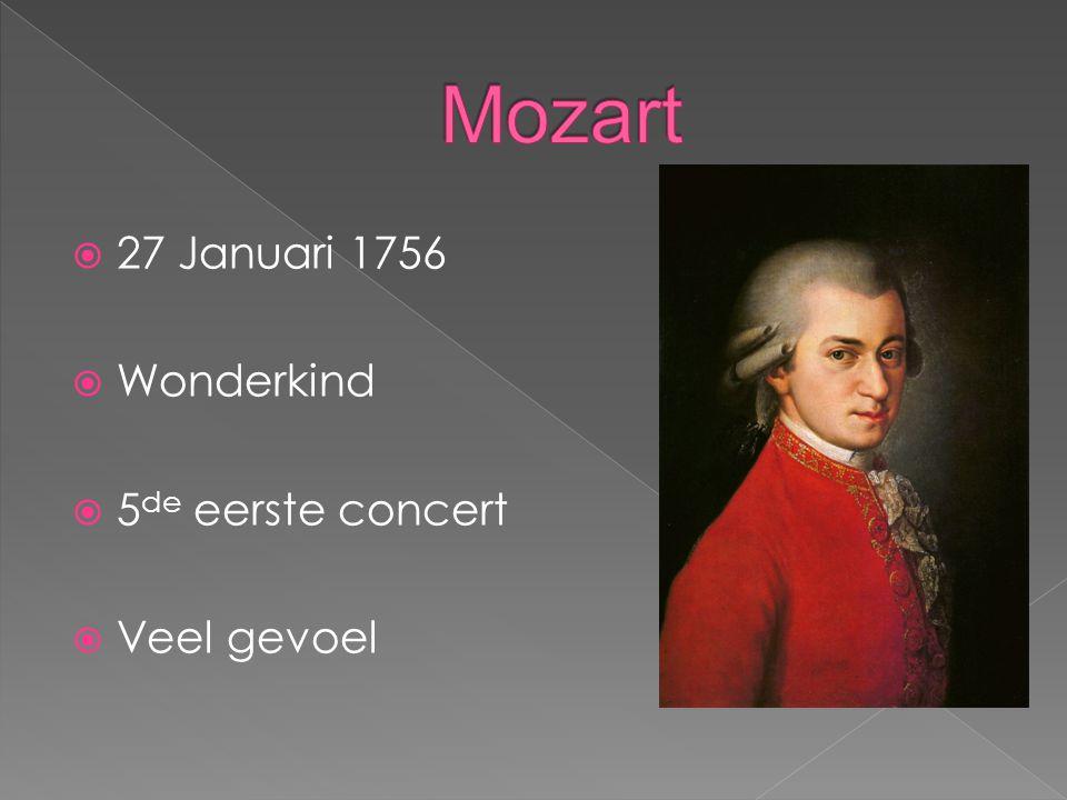  16 December 1770  Klassiek  Mozart  28 doof