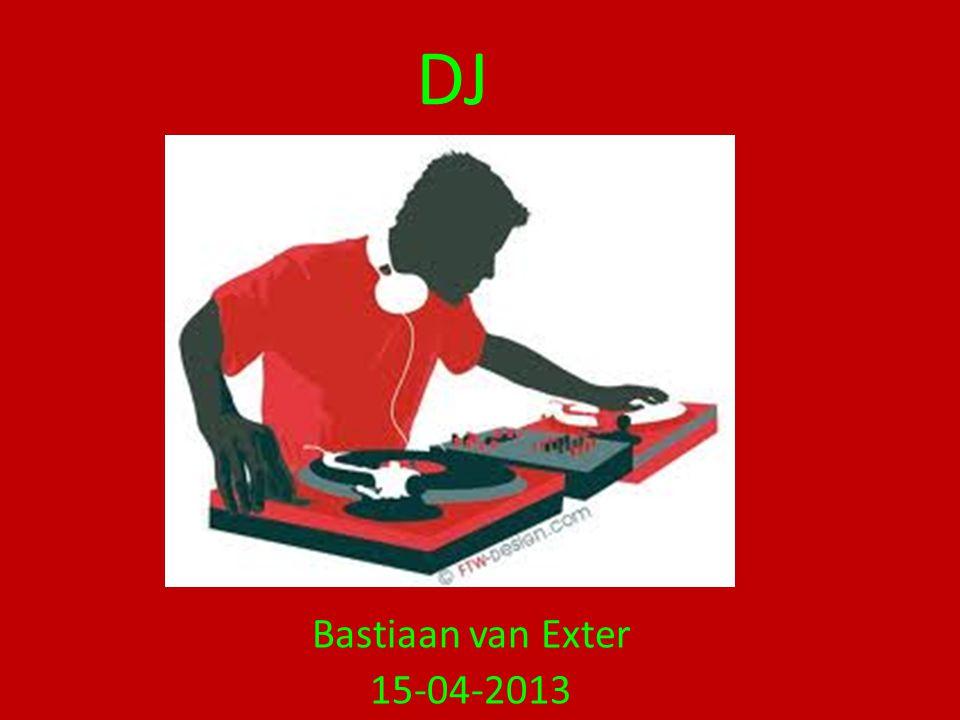 DJ Bastiaan van Exter 15-04-2013