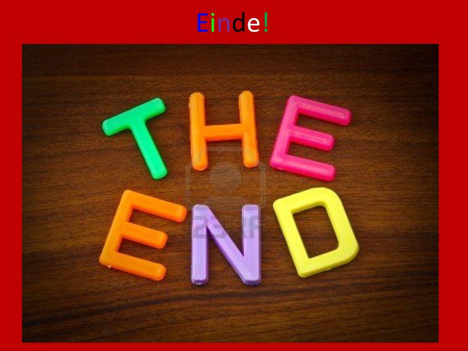 Einde!Einde!