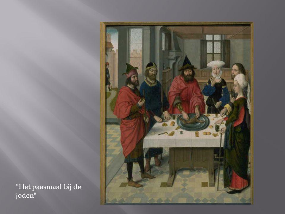 Het paasmaal bij de joden