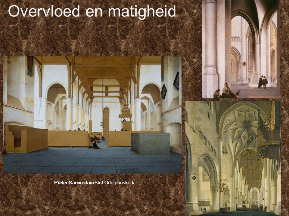 Overvloed en matigheid Pieter Saenredam Sint-Odolphuskerk