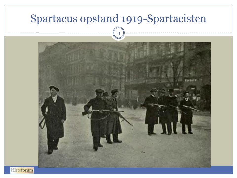 Spartacus opstand 1919-Spartacisten 4