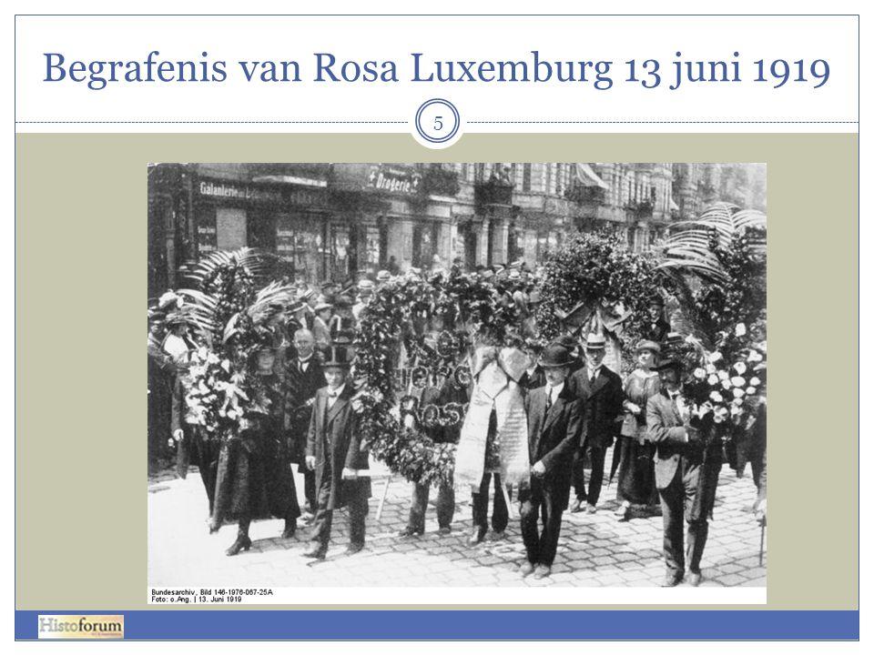 Begrafenis van Rosa Luxemburg 13 juni 1919 5
