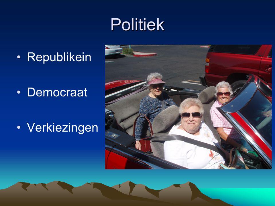 Politiek Republikein Democraat Verkiezingen