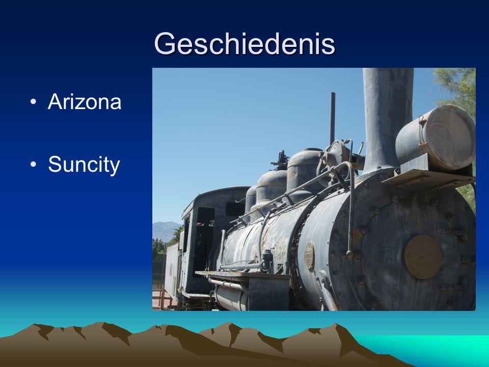 Geschiedenis Arizona Suncity