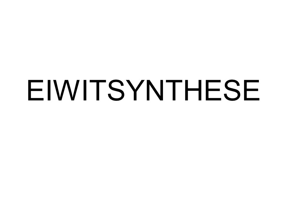 EIWIT Bestaat natuurlijk niet uit 5 aminozuren maar veel meer.