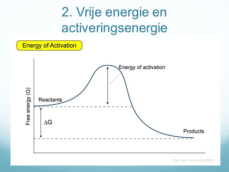 Activeringsenergie chemische reacties