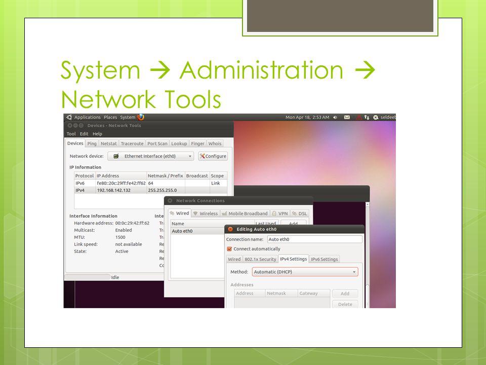 System  Preferences  Network Proxy