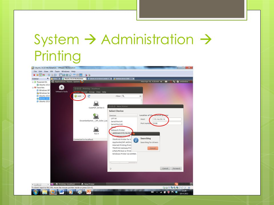 System  Administration  System testing
