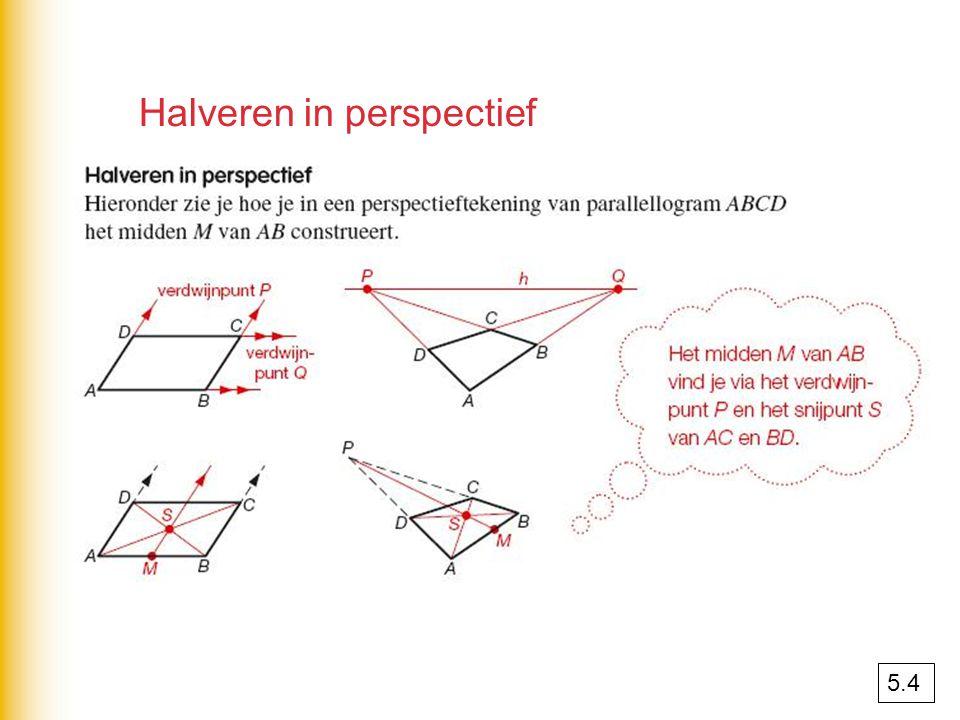 Halveren in perspectief 5.4