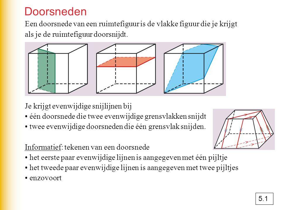De onderlinge ligging van twee lijnen Werkschema: het onderzoeken van de onderlinge ligging van de lijnen PQ en RS.