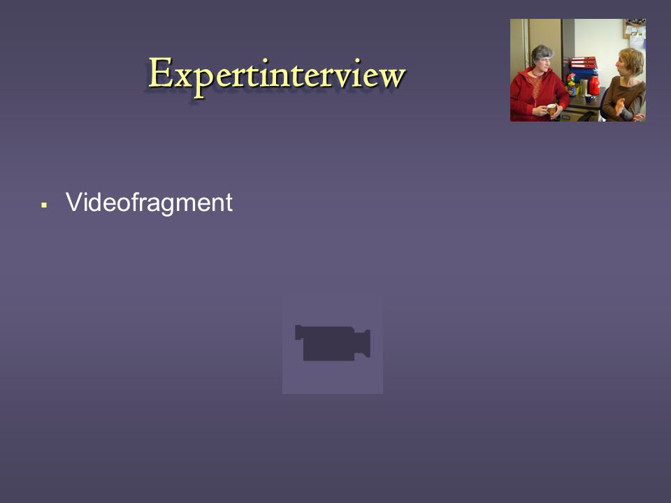 ExpertinterviewExpertinterview  Videofragment