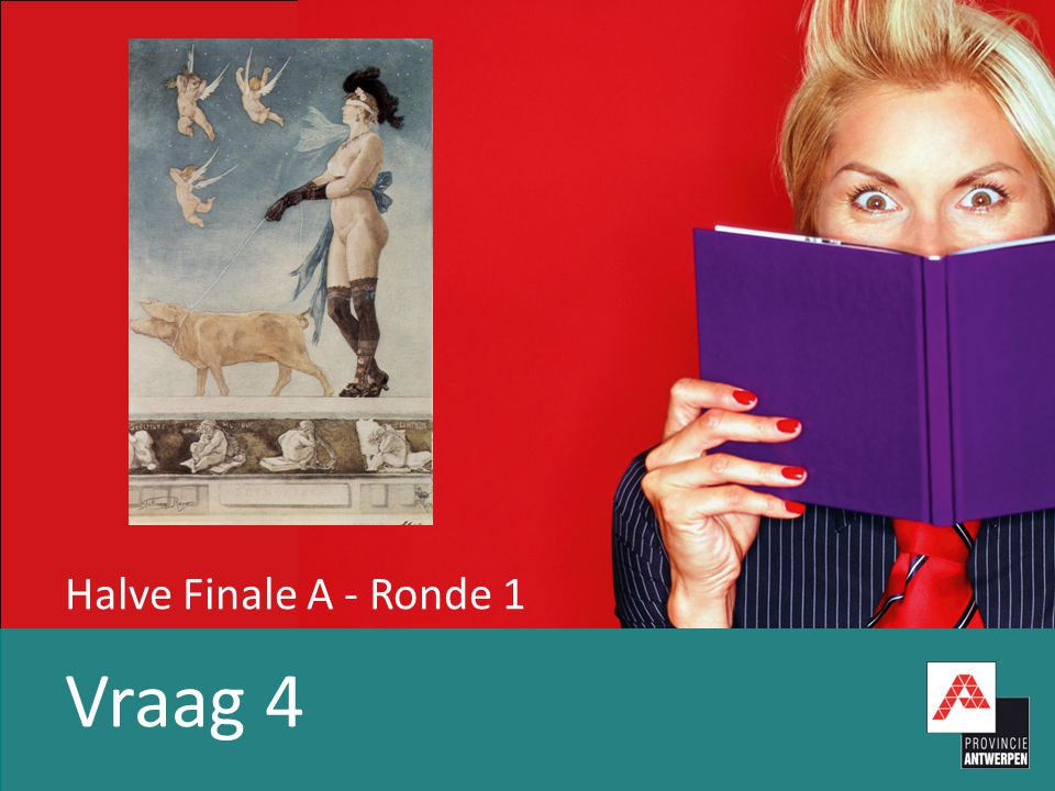 Halve Finale A - Ronde 1 Vraag 5 Welke sporter?