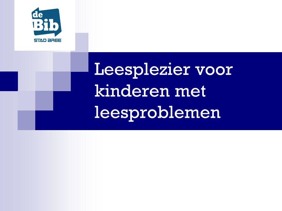 In samenwerking met Luisterpunt: de bibliotheek voor personen met een leesbeperking BVL: Bibliotheek vereniging Limburg PSLB: Provinciaal Steunpunt Limburgse Bibliotheken