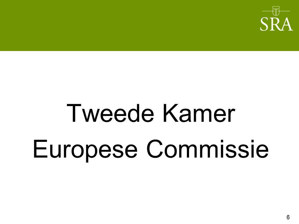 Tweede Kamer Europese Commissie 6