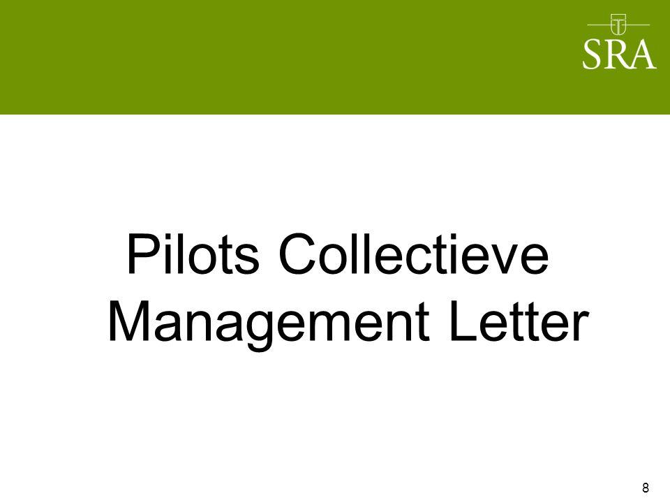 Pilots Collectieve Management Letter 8