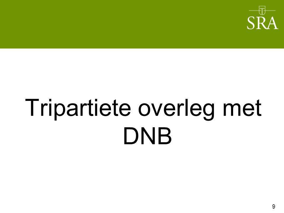 Tripartiete overleg met DNB 9