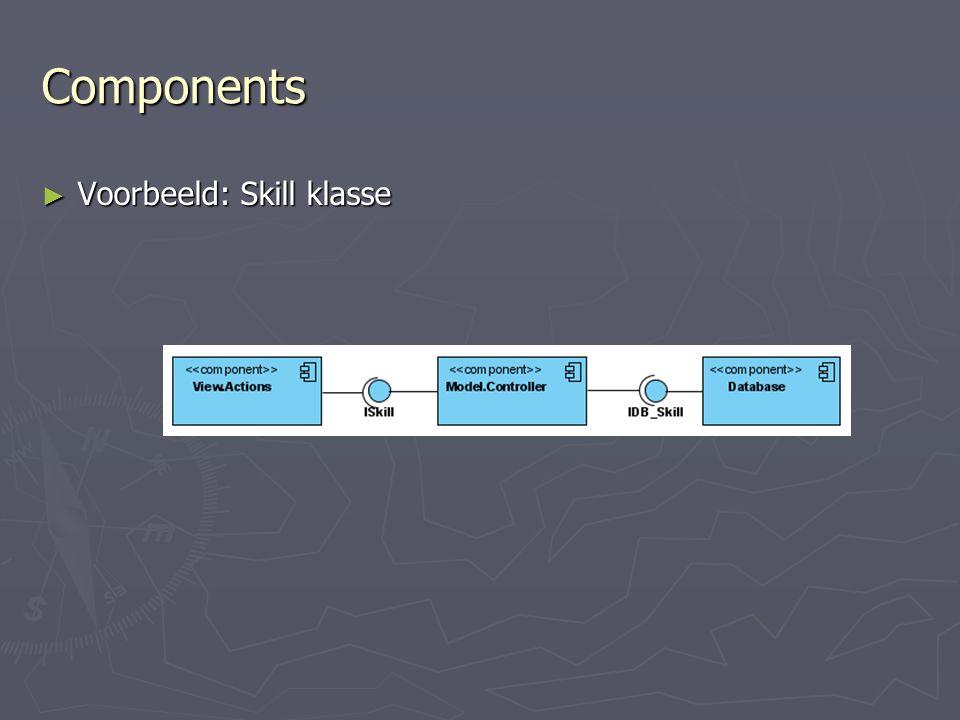 Components ► Voorbeeld: Skill klasse