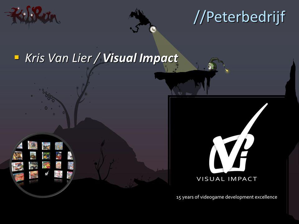  Kris Van Lier / Visual Impact //Peterbedrijf
