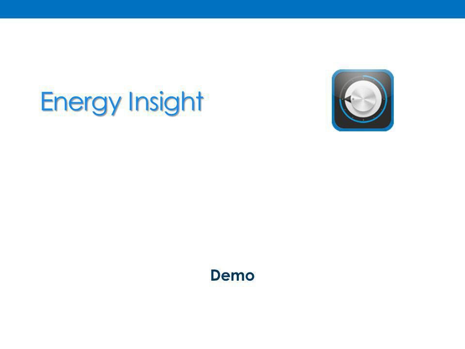Energy Insight Demo