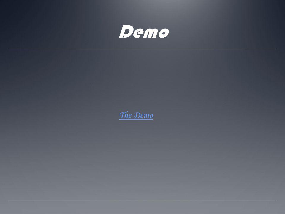Demo The Demo